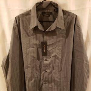 Axist Men's Long Sleeve Dress Shirt 2XL